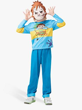 Horrid Henry Children's Costume, 5-6 years