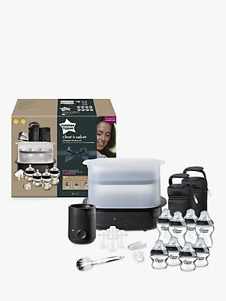 Tommee Tippee Closer To Nature Complete Feeding Set, Black