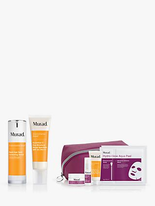 Murad Rapid Age Spot Correction Serum and Essential-C Day Moisture Bundle with Gift