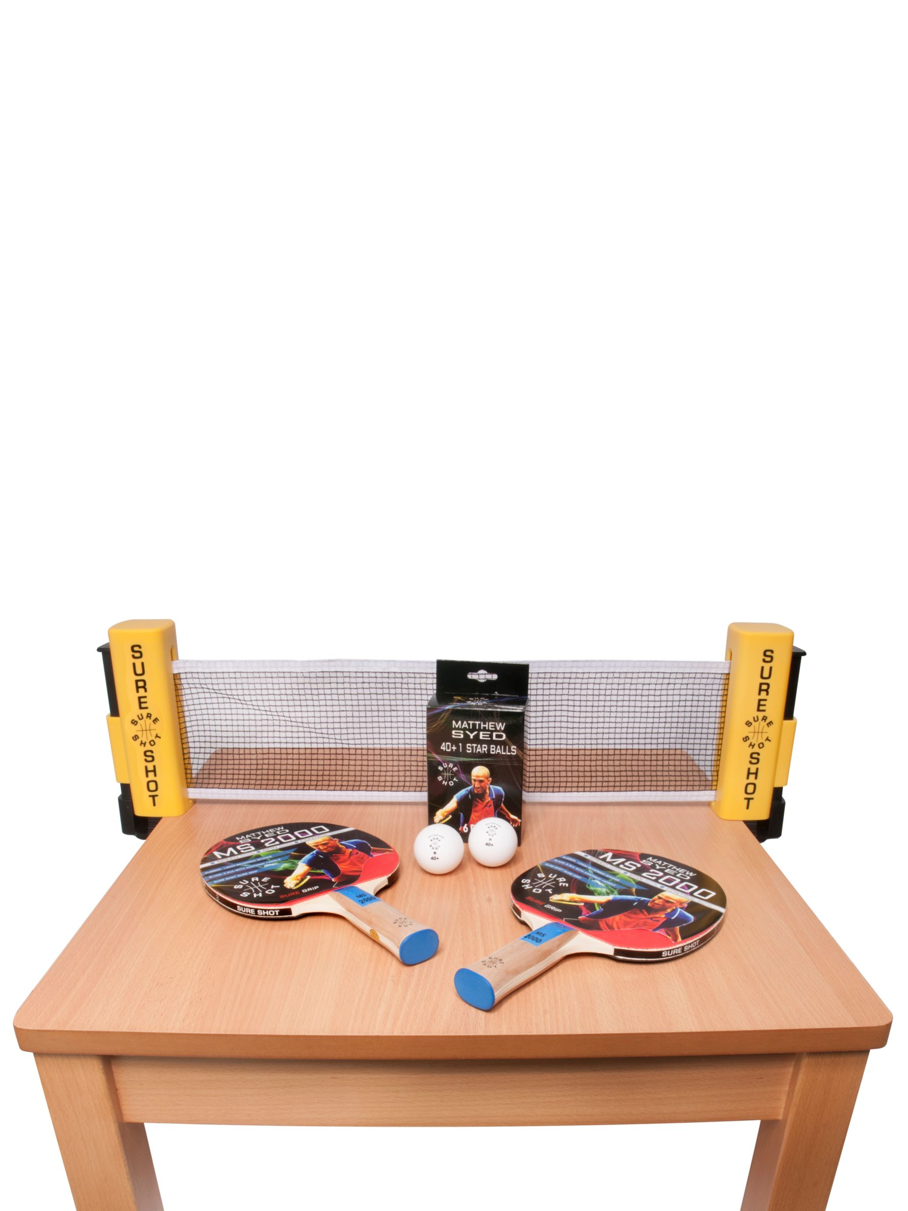 Butterfly Sure Shot Matthew Syed Table Tennis Set