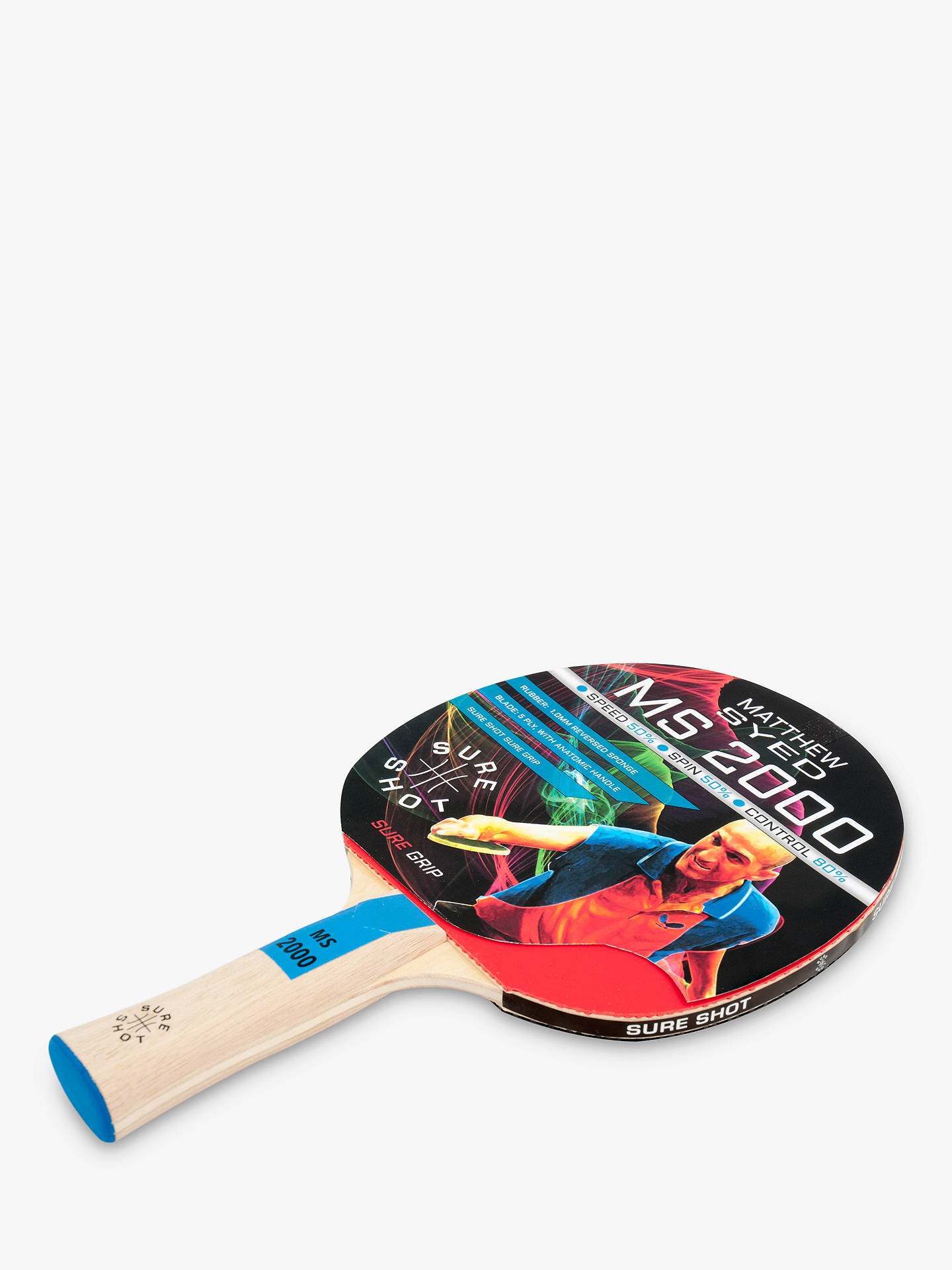 0741aa554c2 ... Buy Butterfly Sure Shot Matthew Syed Table Tennis Set Online at  johnlewis.com ...