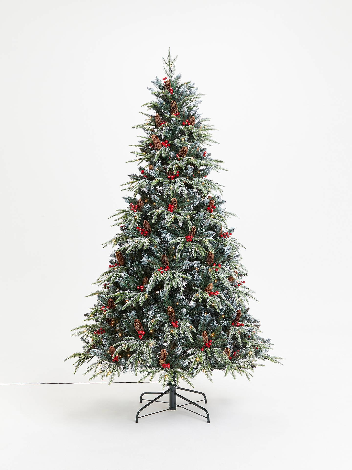 super popular 0f69e eb056 John Lewis & Partners Lymington Pre-lit Christmas Tree, 7ft