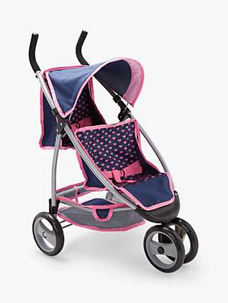 John Lewis & Partners Baby Doll Twin Pushchair