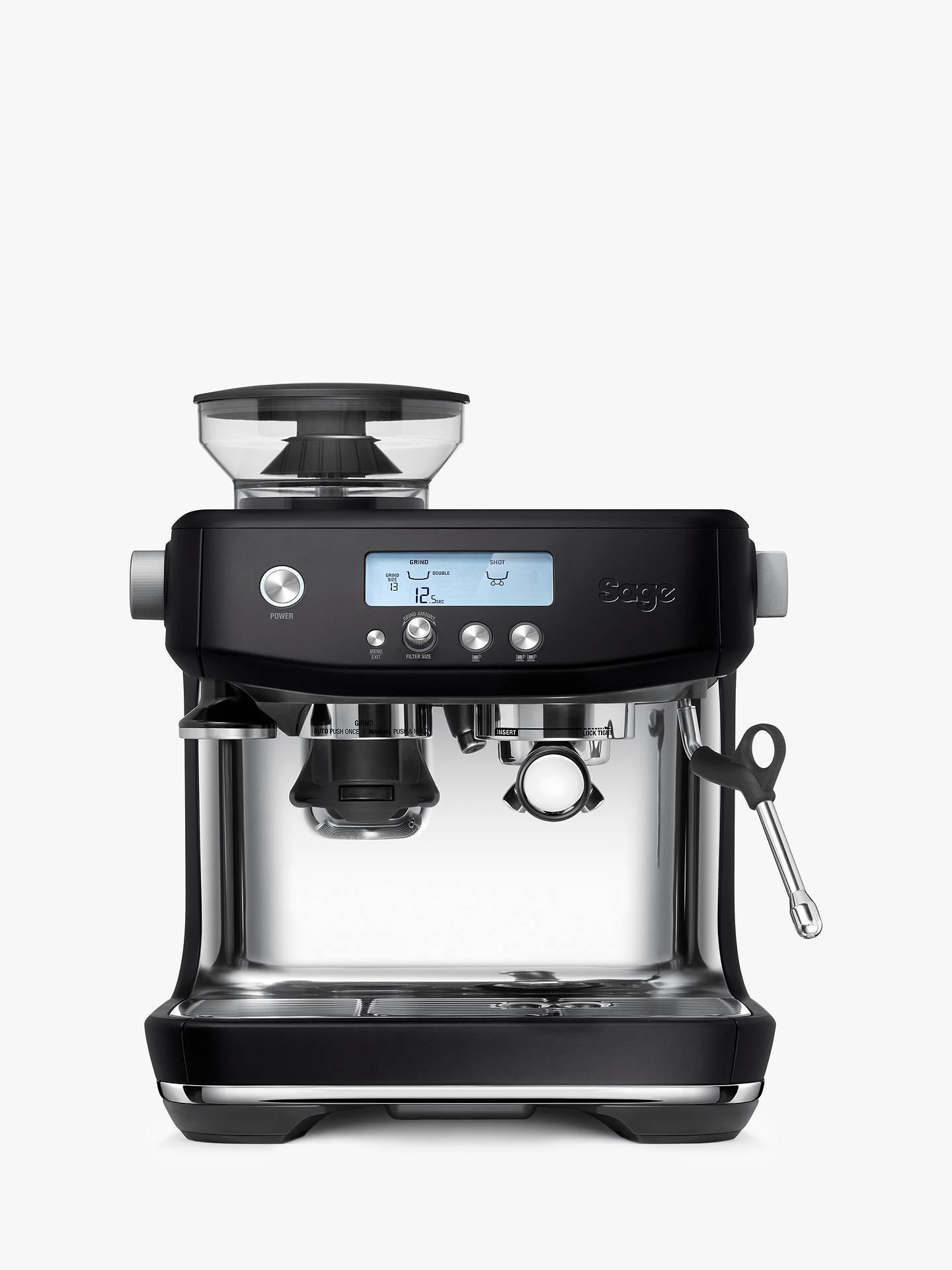 Sage SES878 The Barista Pro Coffee Machine at John Lewis ...