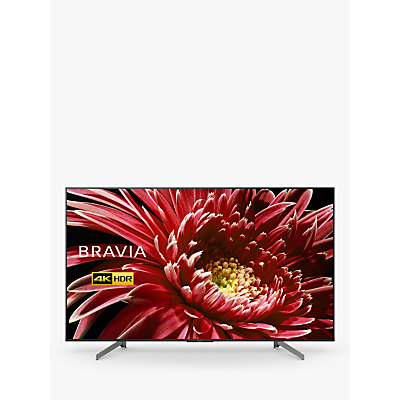 Image of Sony Bravia KD85XG8596 (2019) LED HDR 4K Ultra HD Smart Android TV, 85 with Freeview HD & Youview, Black