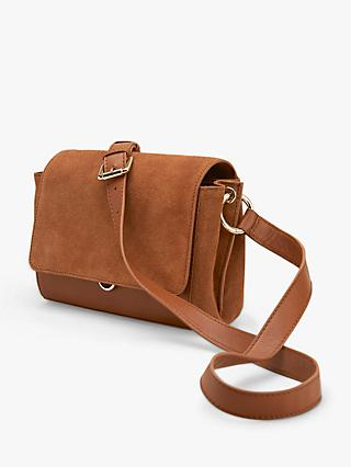 Mint Velvet Tia Leather Cross Body Bag 19f97411a8e06