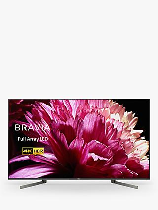 "Sony Bravia KD55XG9505 LED HDR 4K Ultra HD Smart Android TV, 55"" with Freeview HD & Youview, Black"