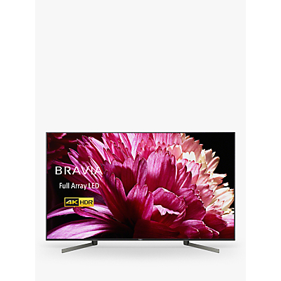 Image of Sony Bravia KD55XG9505 (2019) LED HDR 4K Ultra HD Smart Android TV, 55 with Freeview HD & Youview, Black