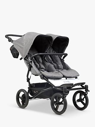 Mountain Buggy Duet Luxury Collection Pushchair, Herringbone