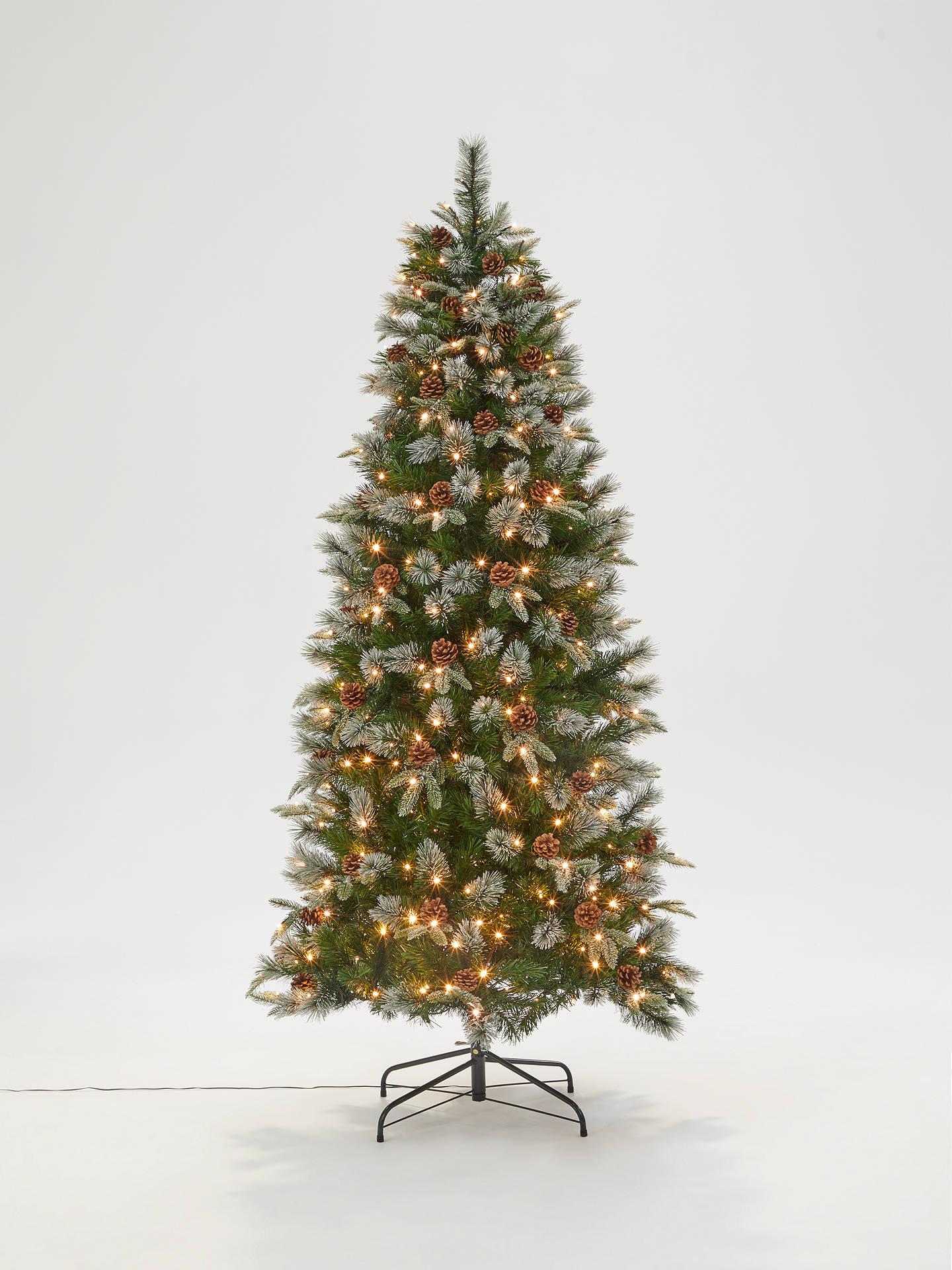 new arrival 40263 3b7a8 John Lewis & Partners Foxtail Pine Pre-lit Christmas Tree, 6.5ft
