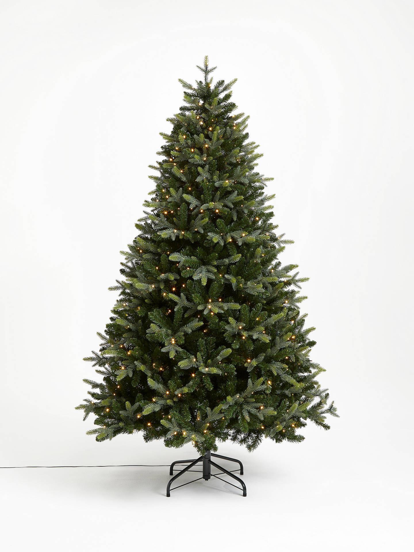 John Lewis & Partners Belgravia Pre-lit Christmas Tree ...
