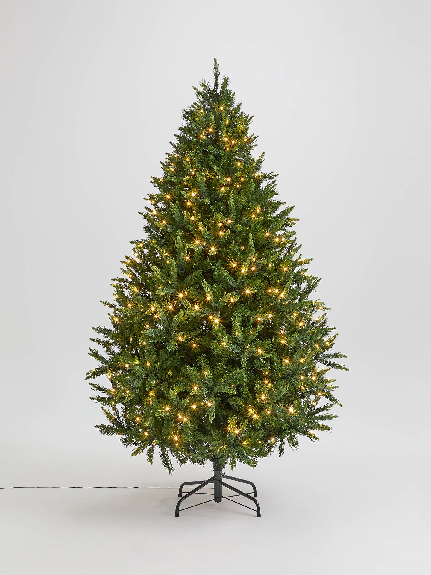 John Lewis Christmas Tree.John Lewis Partners Peardrop Pre Lit Christmas Tree 7ft