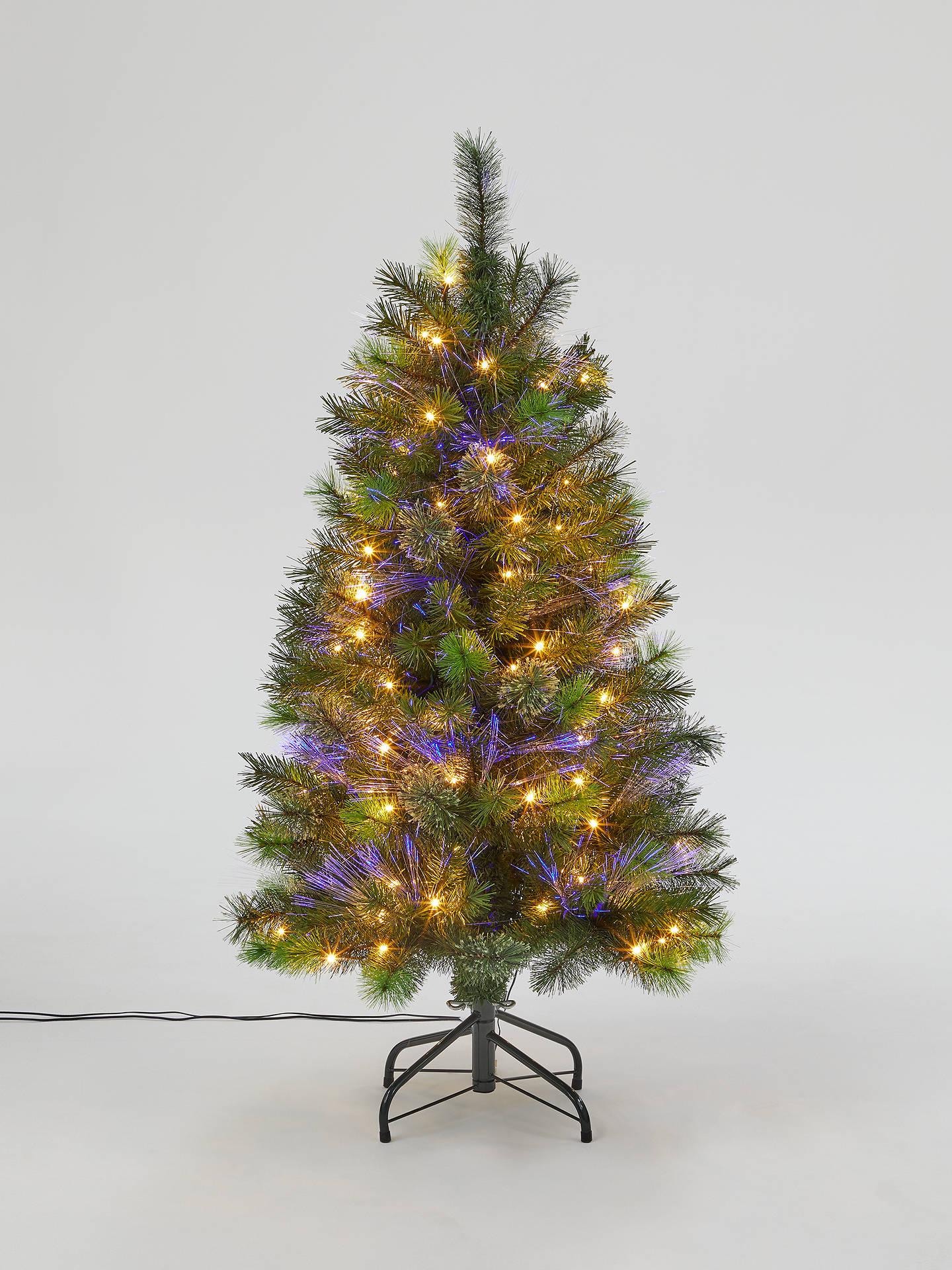 4 Ft Christmas Tree.John Lewis Partners Fibre Optic Pre Lit Christmas Tree 4ft