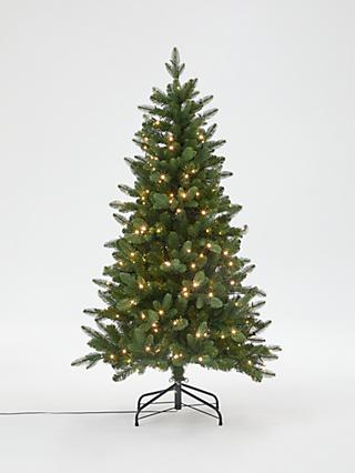 John Lewis & Partners Newington Pre-lit Christmas Tree, 5ft