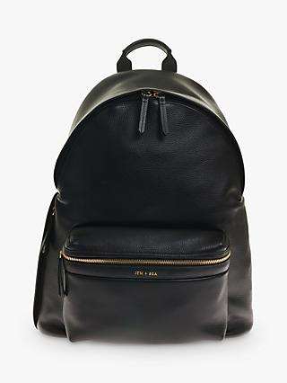 f1ff94fb11e JEM + BEA Jamie Leather Backpack