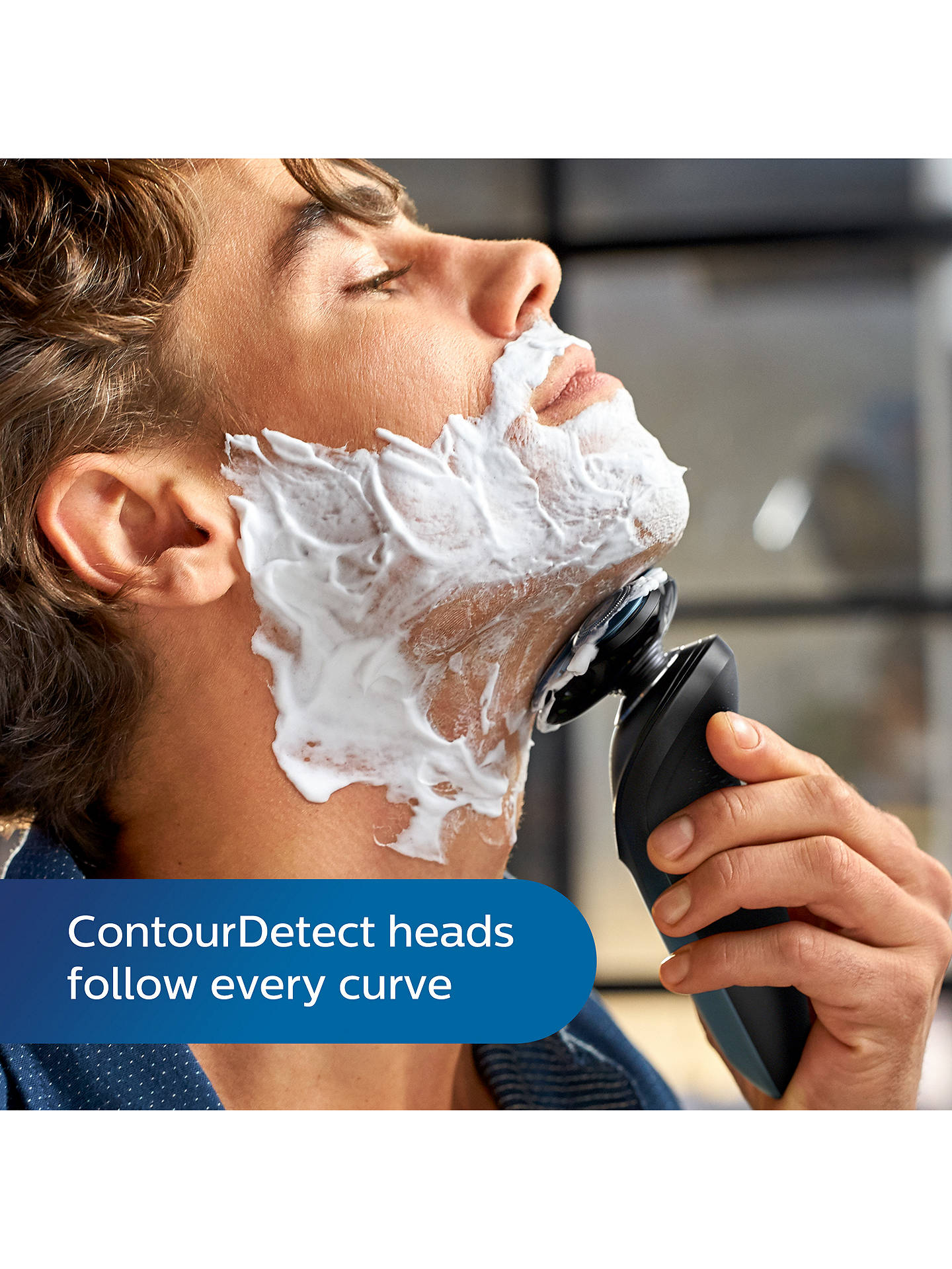Buy Philips S7960/17 Series 7000 Wet or Dry Men's Electric Shaver with Personal Shave Plan Online at johnlewis.com