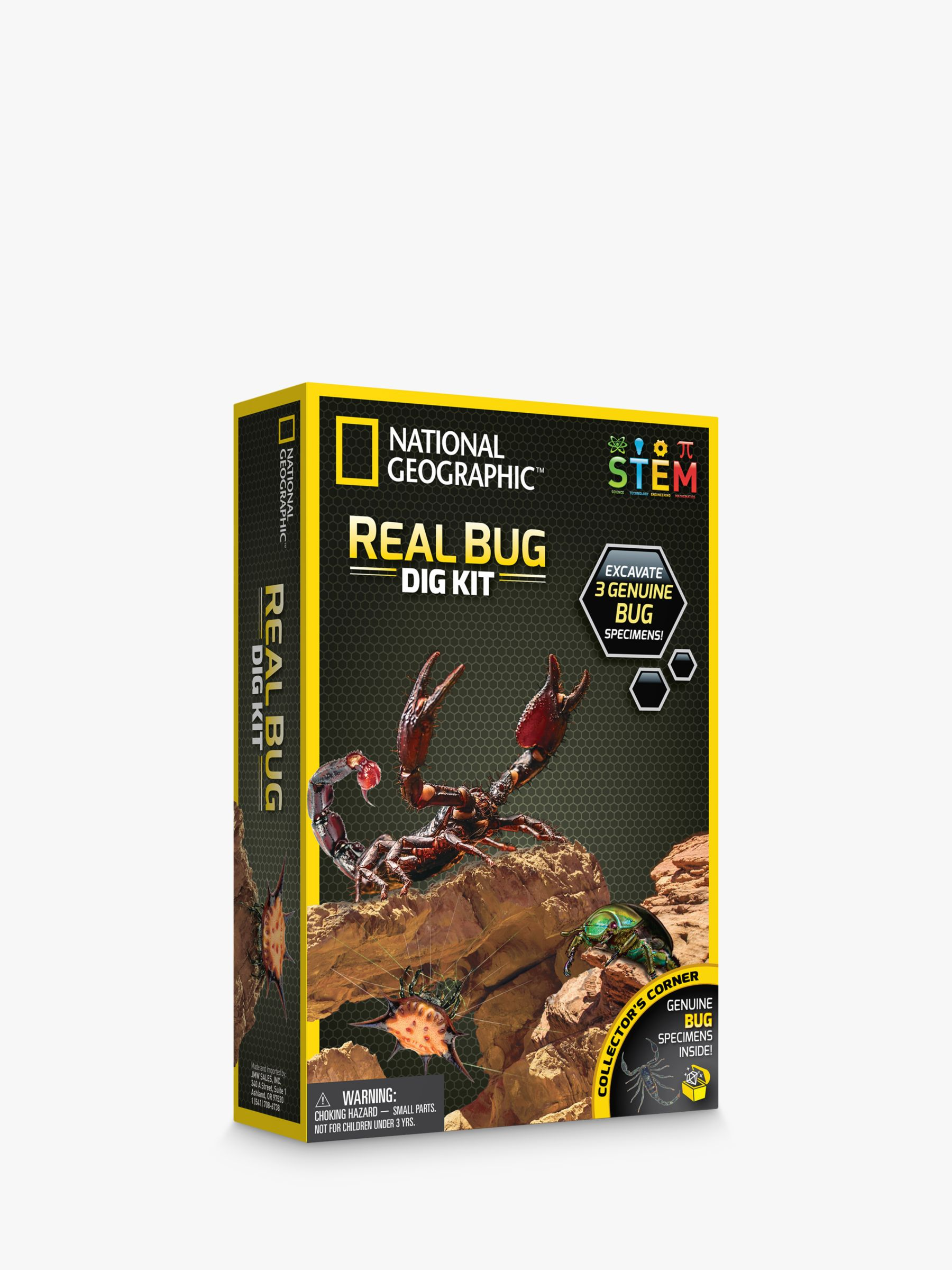 National Geographic National Geographic Real Bug Dig Kit
