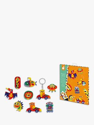 Jarrod Shrink Plastic Magnets and Keyring Kit
