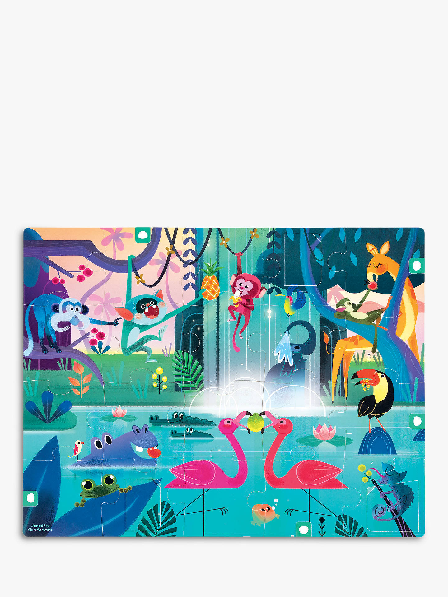 146f68e1 Janod Feast In The Jungle Puzzle, 20 Pieces at John Lewis & Partners
