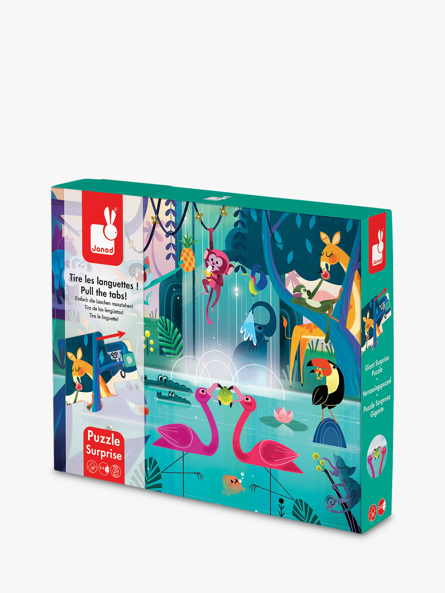 2af8f713 Buy Janod Feast In The Jungle Puzzle, 20 Pieces Online at johnlewis.com ...