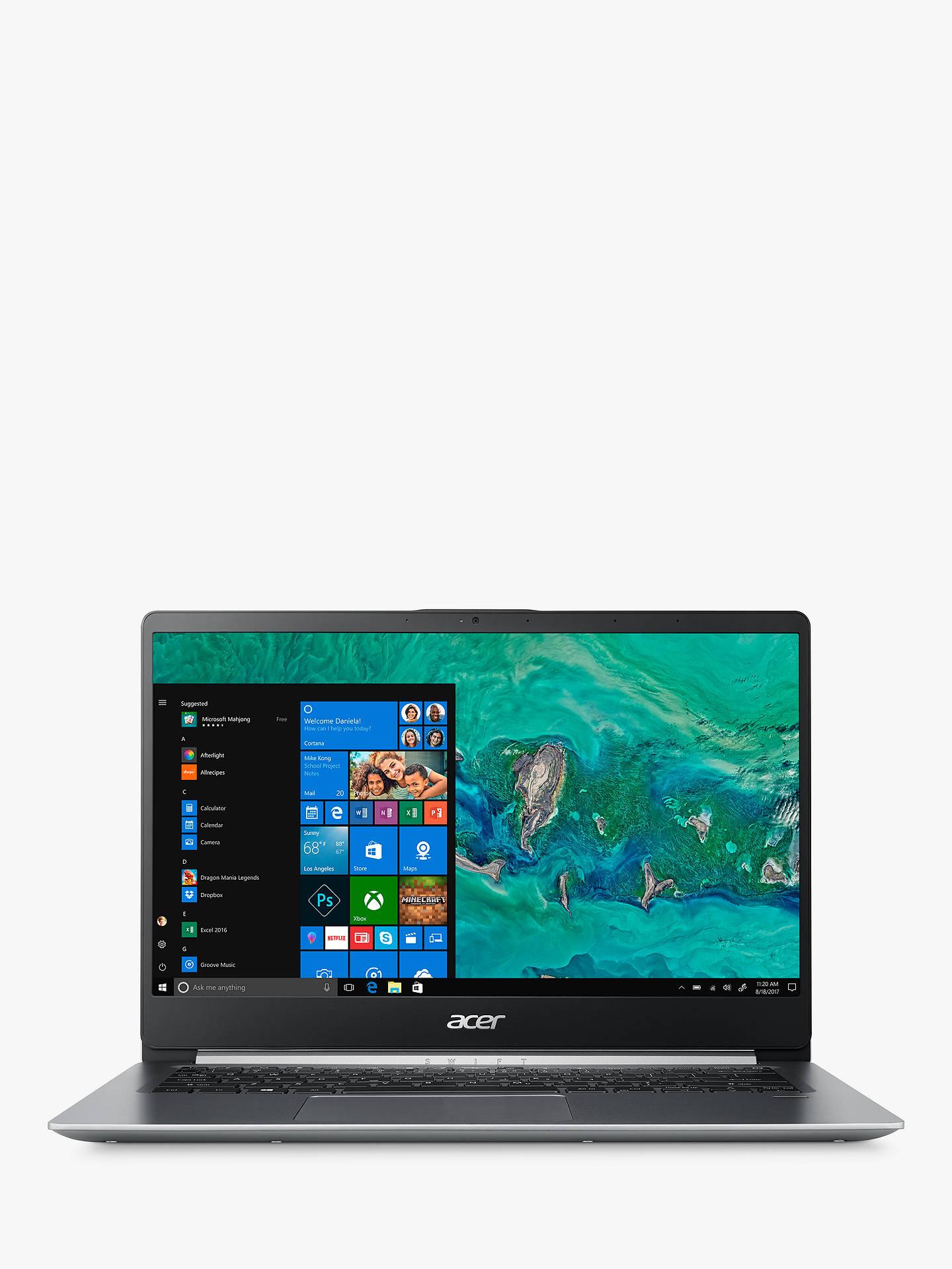 Acer Swift 1 SF114-32 Laptop, Intel Pentium Processor, 4GB RAM, 128GB SSD,  Silver
