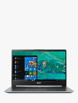 Acer Swift 1 SF114-32 Laptop, Intel Pentium Processor, 4GB RAM, 128GB SSD, Silver