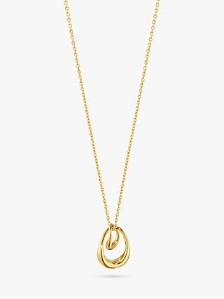 Georg Jensen Offspring Pendant Necklace, Gold