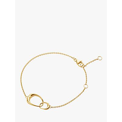 Georg Jensen 18ct Gold Offspring Chain Bracelet, Gold
