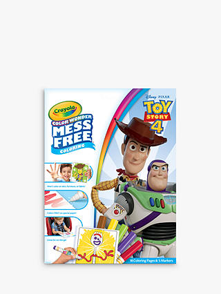 Crayola Toy Story 4 Colour Wonder Colouring Pages & Markers