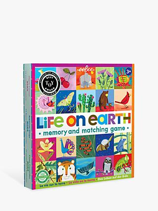 Eeboo Life On Earth Matching & Memory Game