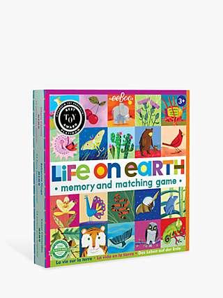 eeBoo Life On Earth Matching & Memory Game