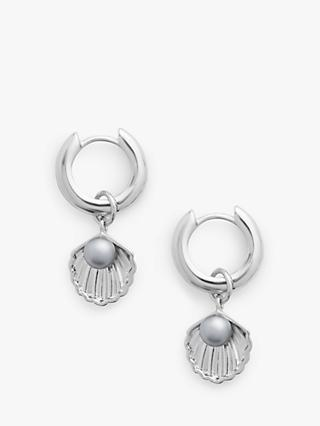 Olivia Burton Shell Hug Hoop Earrings