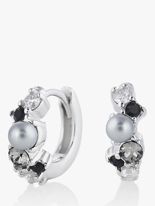 Olivia Burton Swarovski Crystals Hug Hoop Earrings