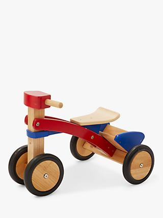 John Lewis & Partners My First Wooden Trike