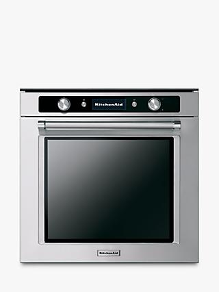 KitchenAid KOLSP 60602 Single Built-in Electric Oven, A+ Energy Rating, Stainless Steel