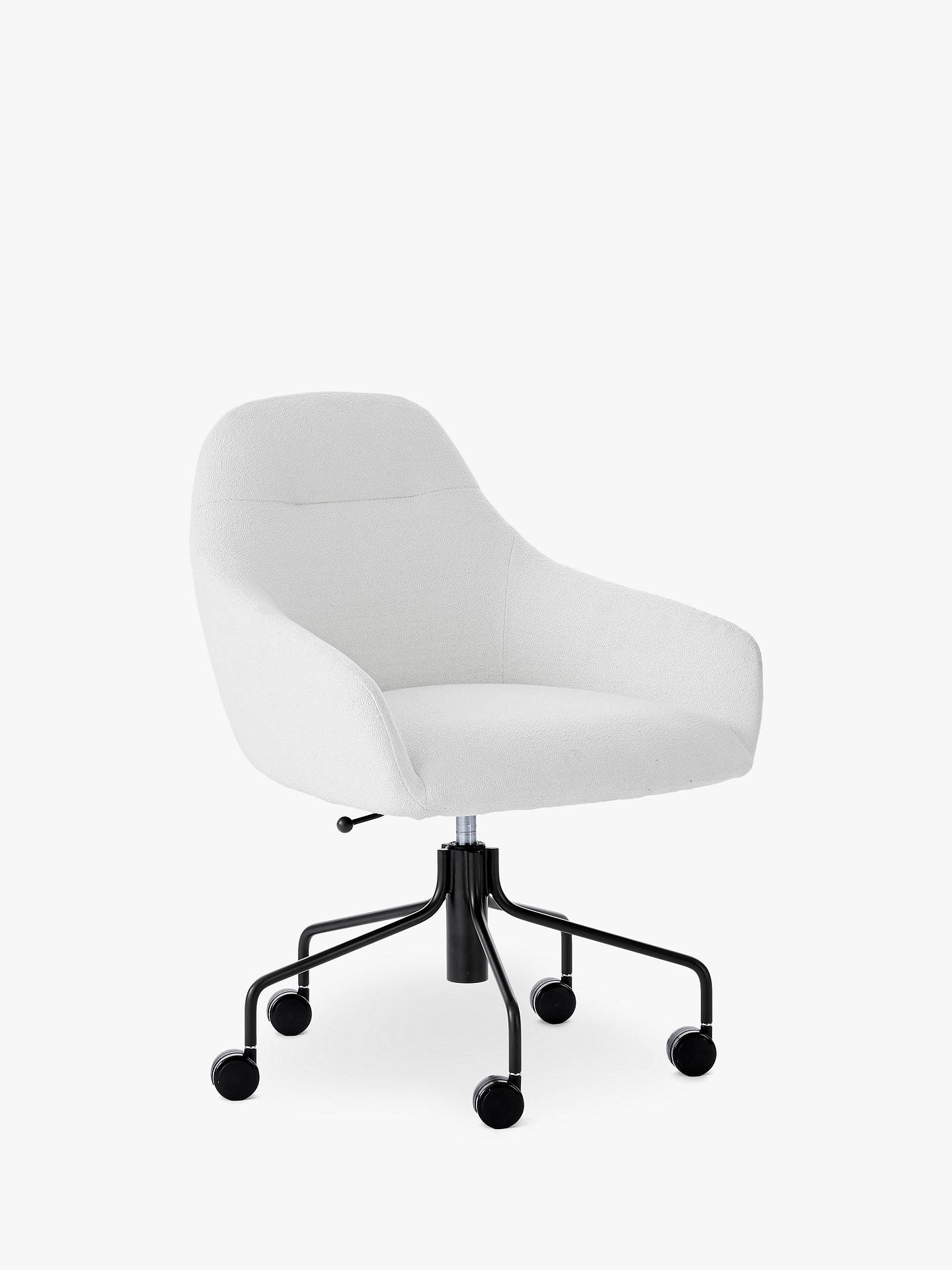 stunning west elm office chair | west elm Valentina Office Chair, White at John Lewis ...
