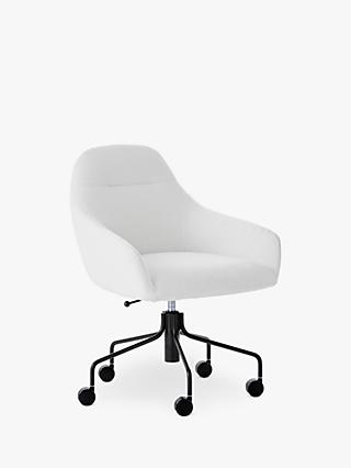 west elm Valentina Office Chair, White