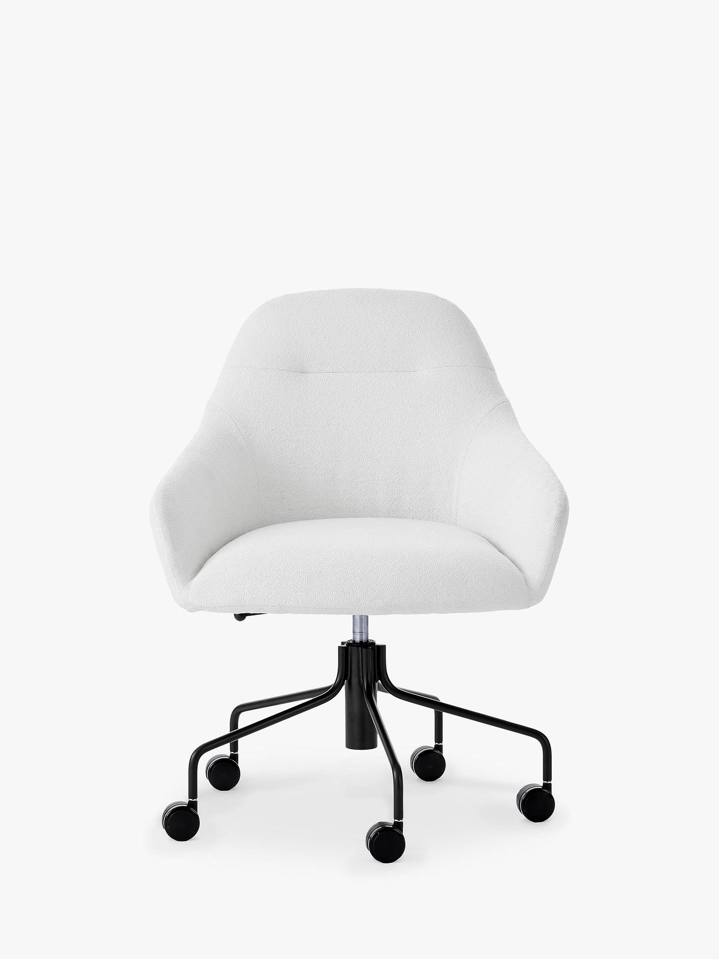 info for 11fdd cd4e1 west elm Valentina Office Chair, White