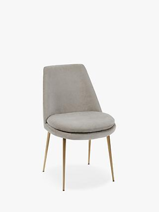 west elm Finley Velvet Dining Chair