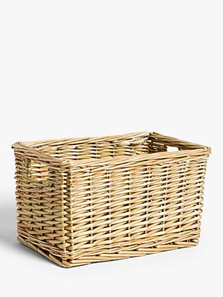 Croft Collection Wicker Storage Basket, Medium