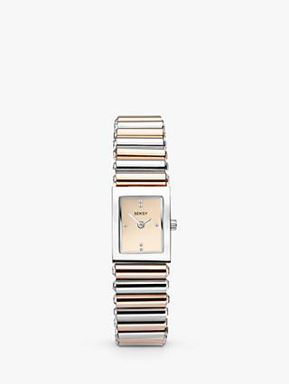 Sekonda 2867 Women's Seksy Swarovski Crystal Bracelet Strap Watch, Multi/Gold