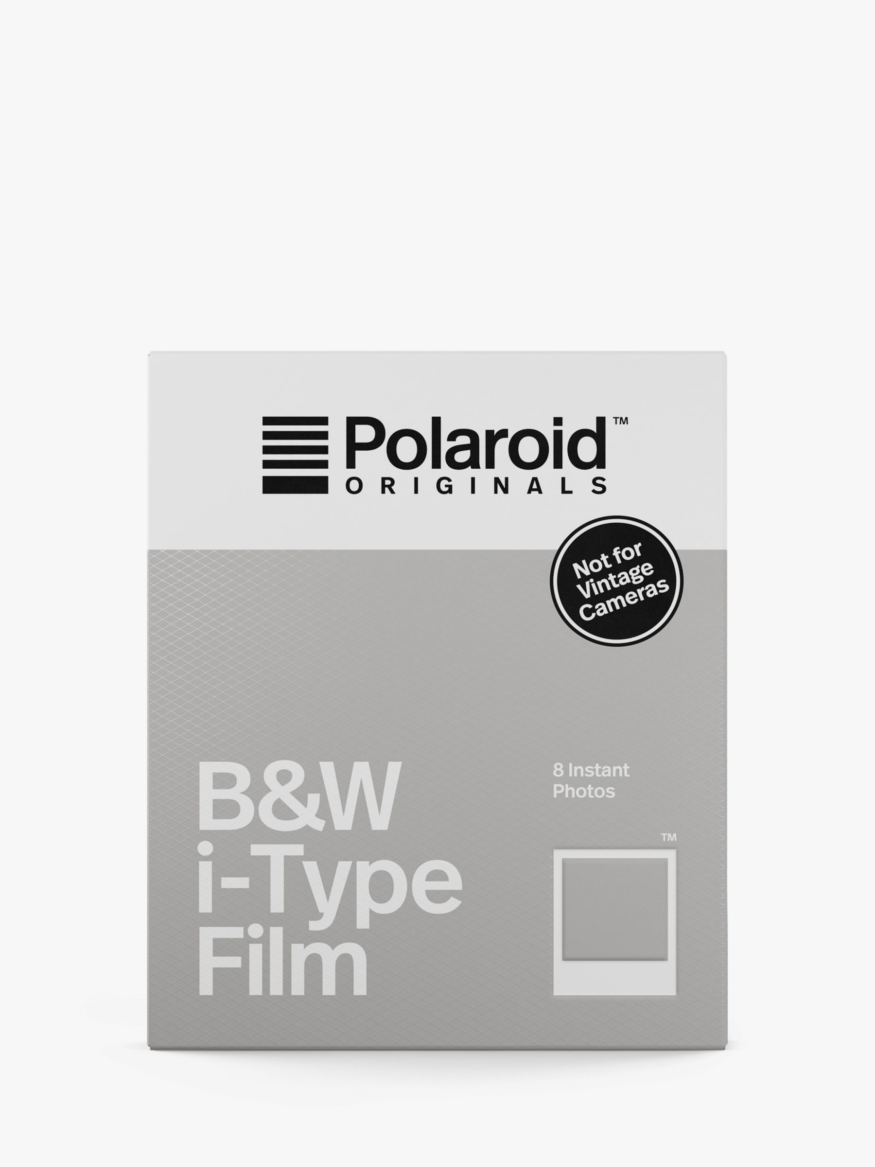 Polaroid Polaroid Black & White i-Type Instant Film, Pack of 8