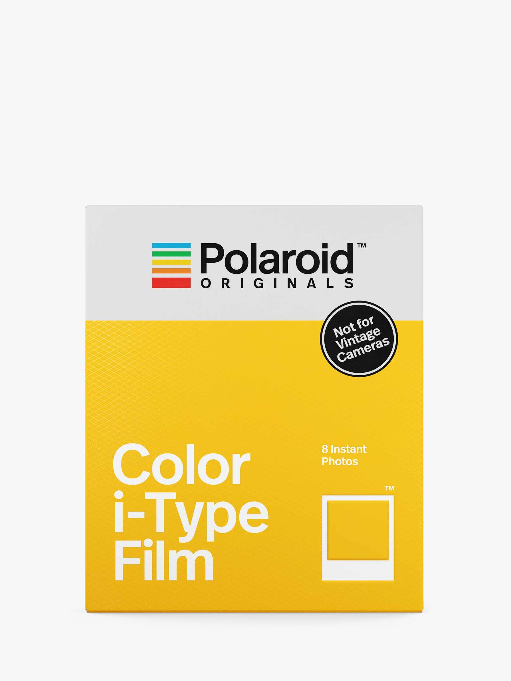 Polaroid Polaroid Colour i-Type Instant Film, Pack of 8