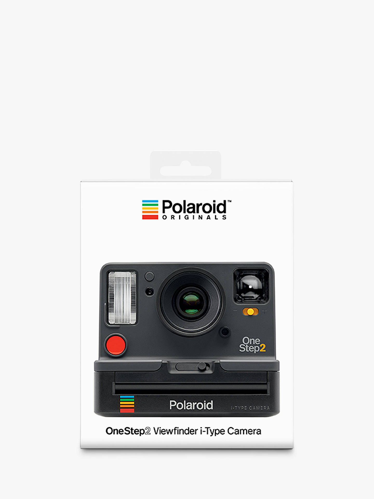 bac75fe51327 ... Buy Polaroid OneStep 2 i-Type Instant Camera, Graphite Online at  johnlewis.com