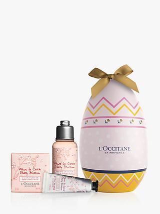 LOccitane Cherry Blossom Easter Egg Bodycare Gift Set