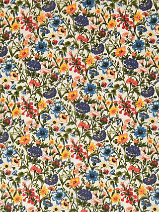 Liberty Rachel Floral Print Fabric, Cream/Multi