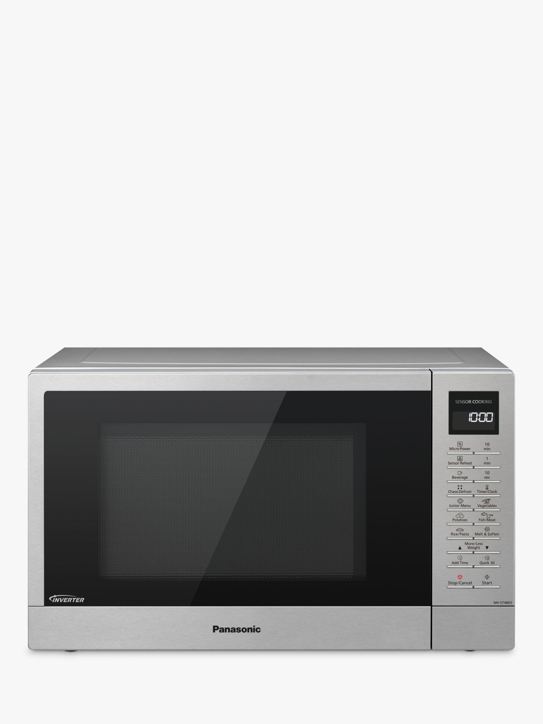 Panasonic Panasonic NN-ST48KSBPQ Freestanding Microwave, Stainless Steel