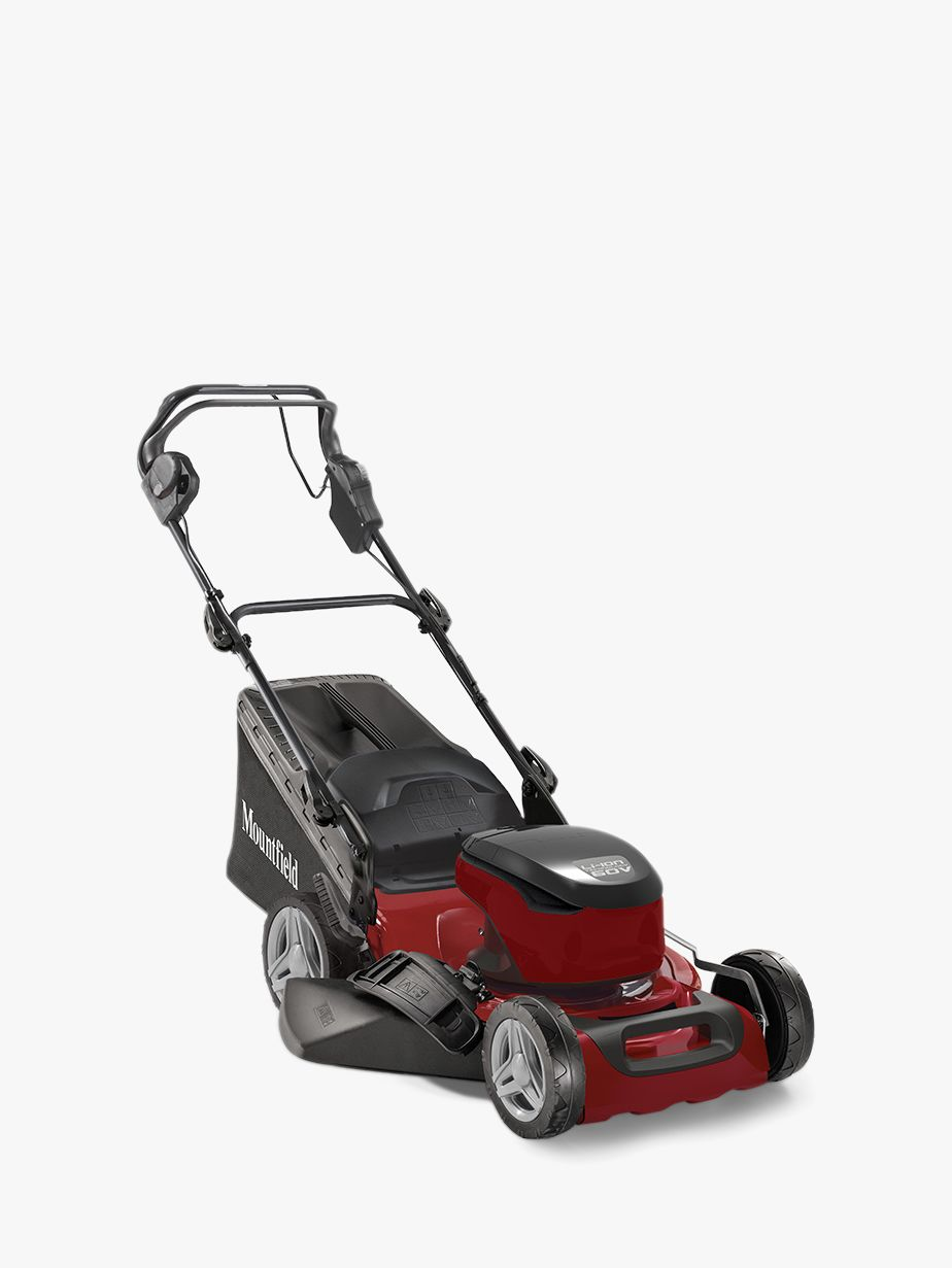 Mountfield Mountfield S42 PD Li Self-Propelled Electric Lawnmower, Red