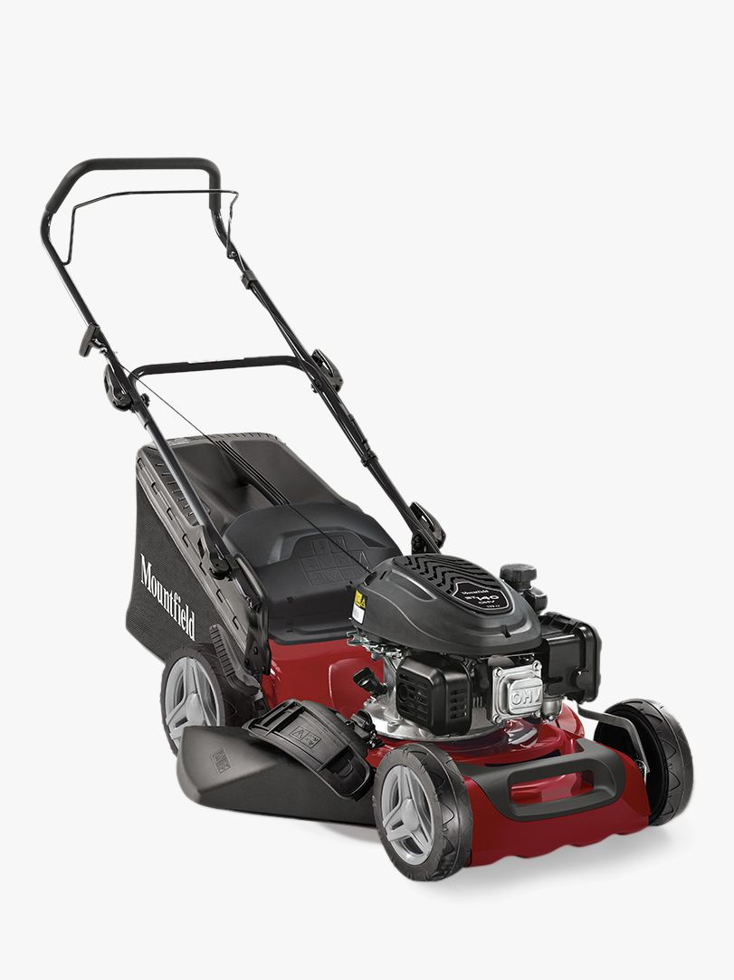 Mountfield Mountfield S421HP Hand-Propelled Petrol Lawnmower, Red