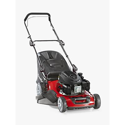 Mountfield 481 Hand-Propelled Petrol Lawnmower, Red